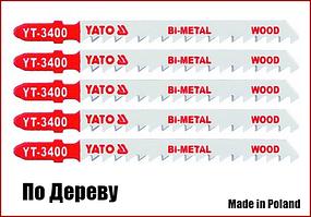 Набір полотен для електролобзика по дереву Yato YT-3400