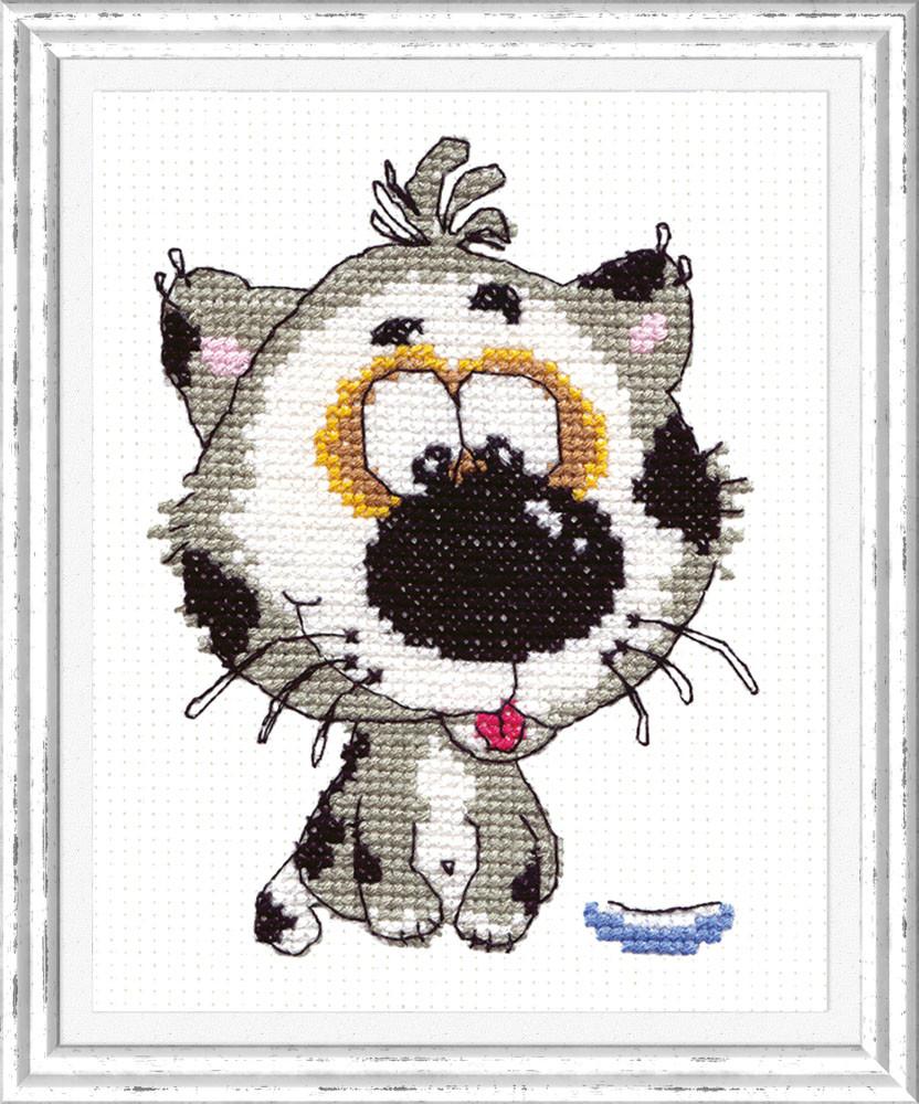 Набор для вышивания Чудесная игла Мяу (26-08)
