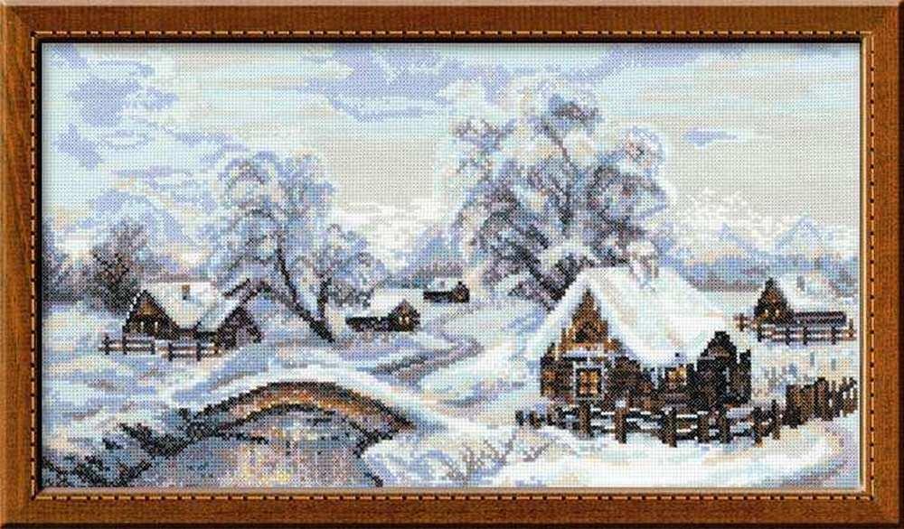 Набір для вишивання Ріоліс Зимове село (v100\002)
