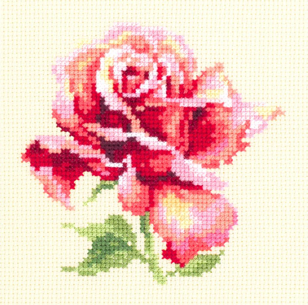 Набор для вышивания Чудесная Игла Прекрасная роза (150-001)