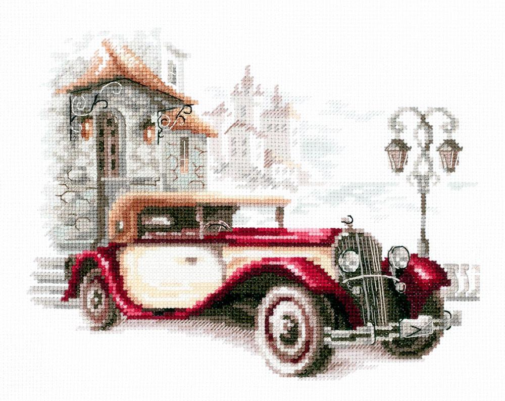 Набір для вишивання Чудова Голка Ретро автомоблей Кадиллак (110-022)