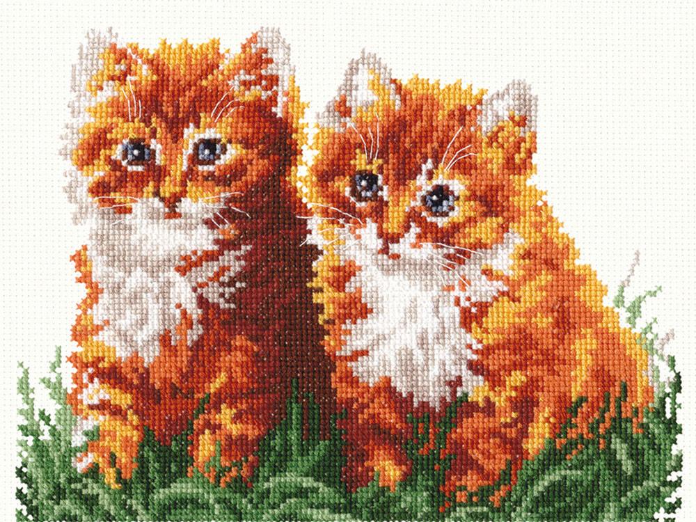 Набор для вышивания Чудесная игла Рыжие друзья (58-05)