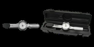 """Стрілочний динамометричний ключ 1/4"""" 0-8 Nm, 0-70 lb.in"""