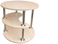 Журнальний стіл ДСП Силует (плюс) МАКСІ-Меблі, фото 1