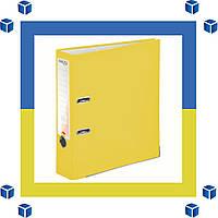 Папка - регистратор (сегрегатор) А4/75 Delta (желтая-односторонняя)