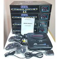 Игровая приставка Sega Mega Drive 2 16 бит (368в1 вариантов  игр в памяти)
