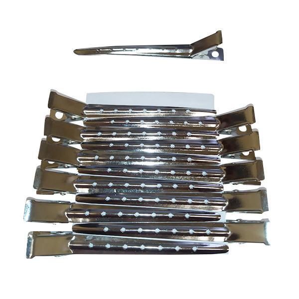 Yongba. Затискачі для волосся металеві, 8,5 сантиметрів.