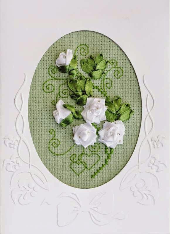 Набор для вышивания Риолис Открытка К свадьбе (1301АС)