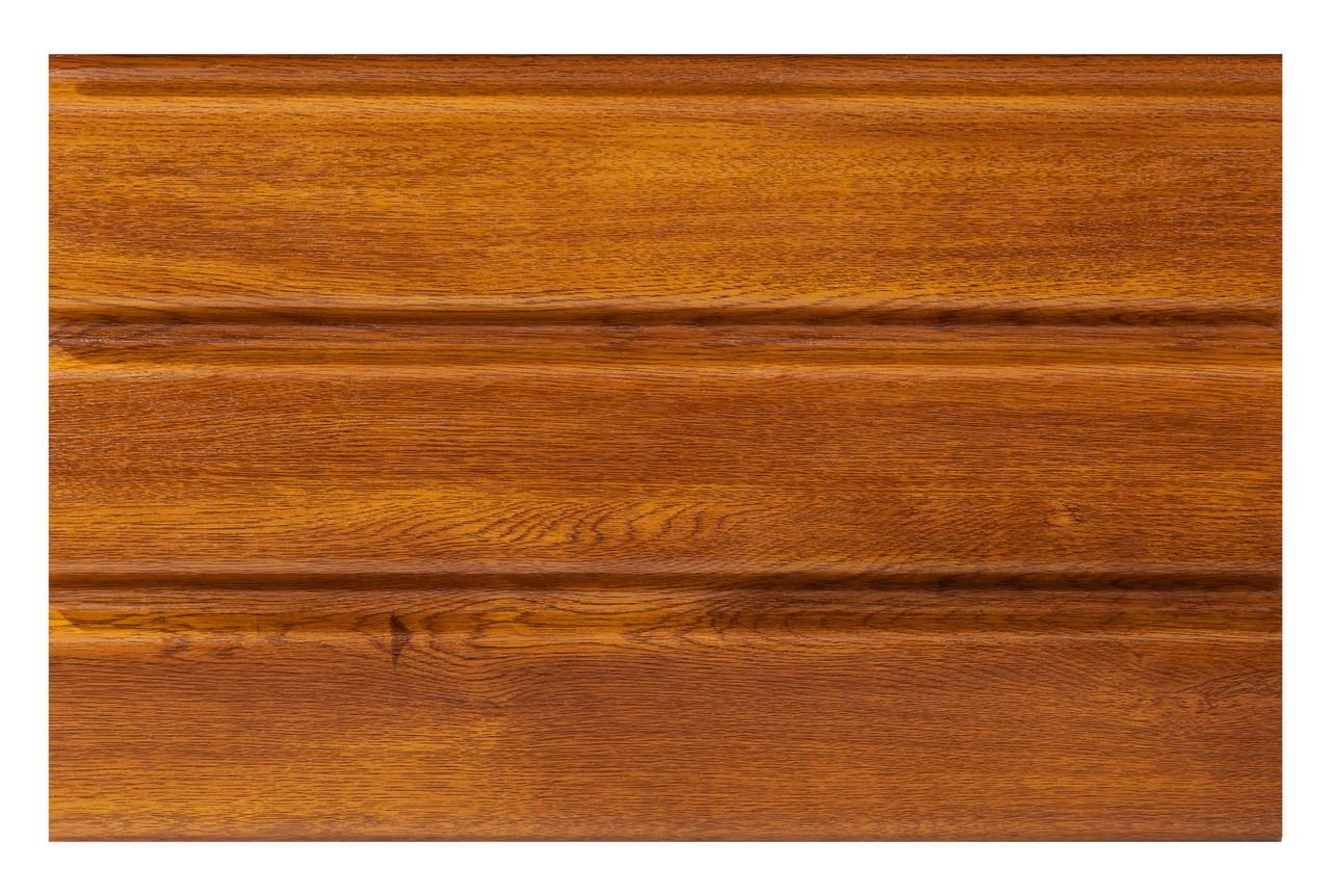Соффит перфорированный золотой дуб ASKO NEO для подшивки кровли сайдингом