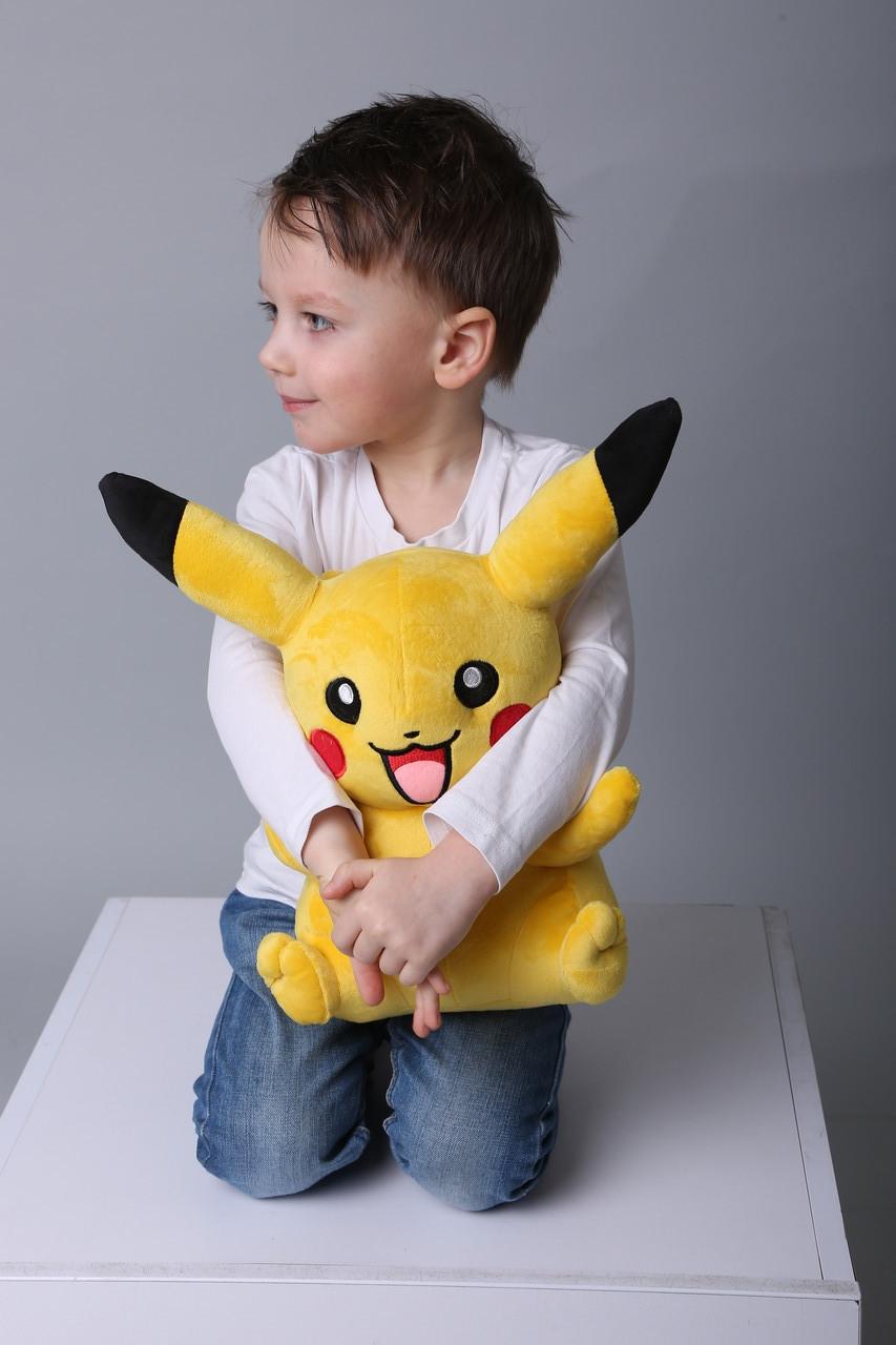 Пикачу мягкая плюшевая игрушка Покемон 40 см