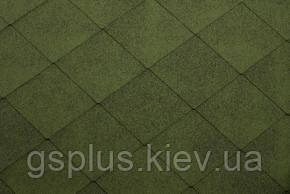 Бітумна черепиця Katepal foxy зелений, фото 2