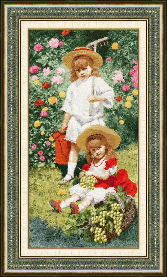 Набір для вишивання Золоте руно Портрет дітей (МК-038)