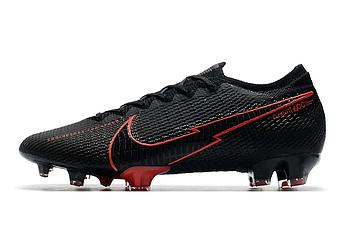 Бутсы Nike Mercurial Vapor XIII Elite FG Black/red