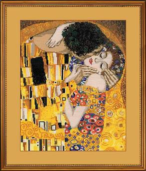 Набор для вышивания Риолис Поцелуй по мотивам картины Г.Климта (1170)