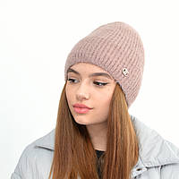 Молодіжна шапка Ангора пряма пильна троянда, фото 1