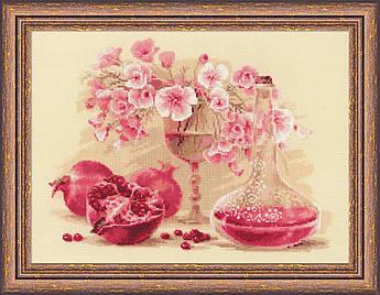 Набор для вышивания Риолис Розовый гранат (1618)