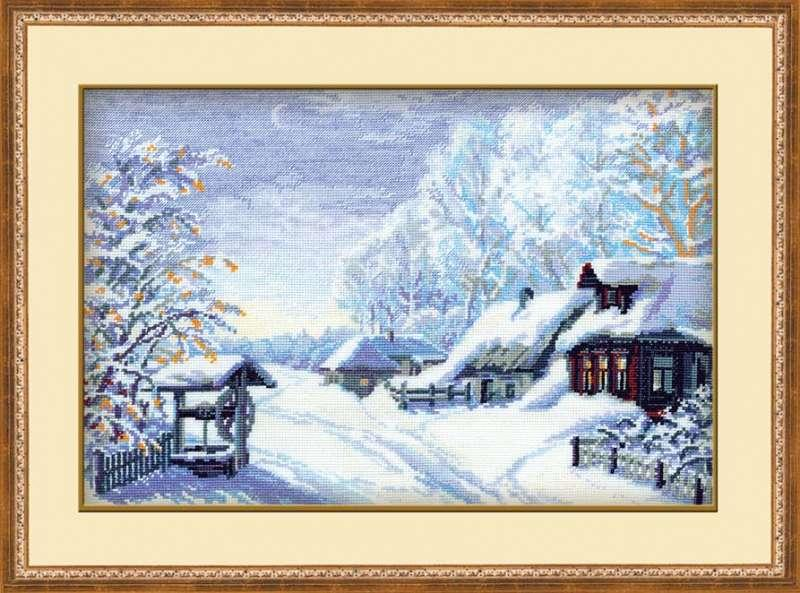 Набор для вышивания Риолис Русская зима (0989)