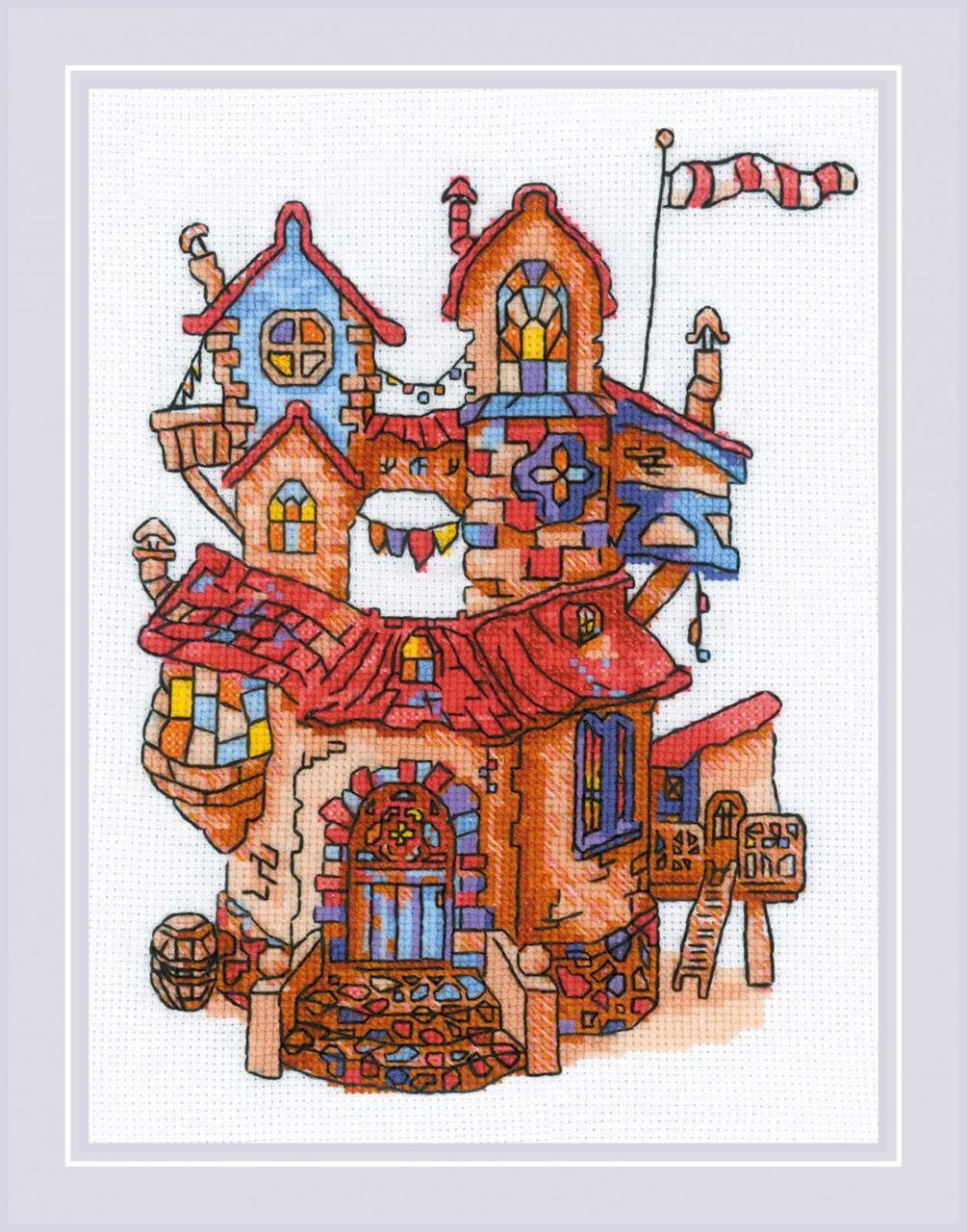 Набор для вышивания Риолис Сказочный домик (1844)