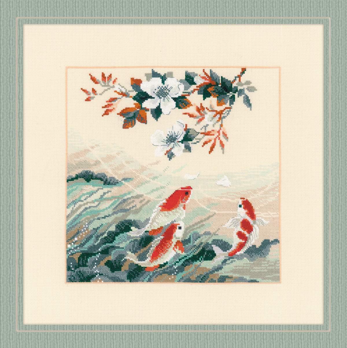 Набор для вышивания Риолис Танцующие рыбки (1574)