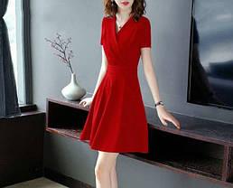 Стильне молодіжне жіноче плаття, фото 2