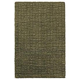 IKEA LANGSTED  Коврик, короткий ворс, темно-зеленый (004.951.81)