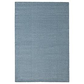 IKEA LANGSTED Килимок, короткий ворс, блакитний (204.951.75)