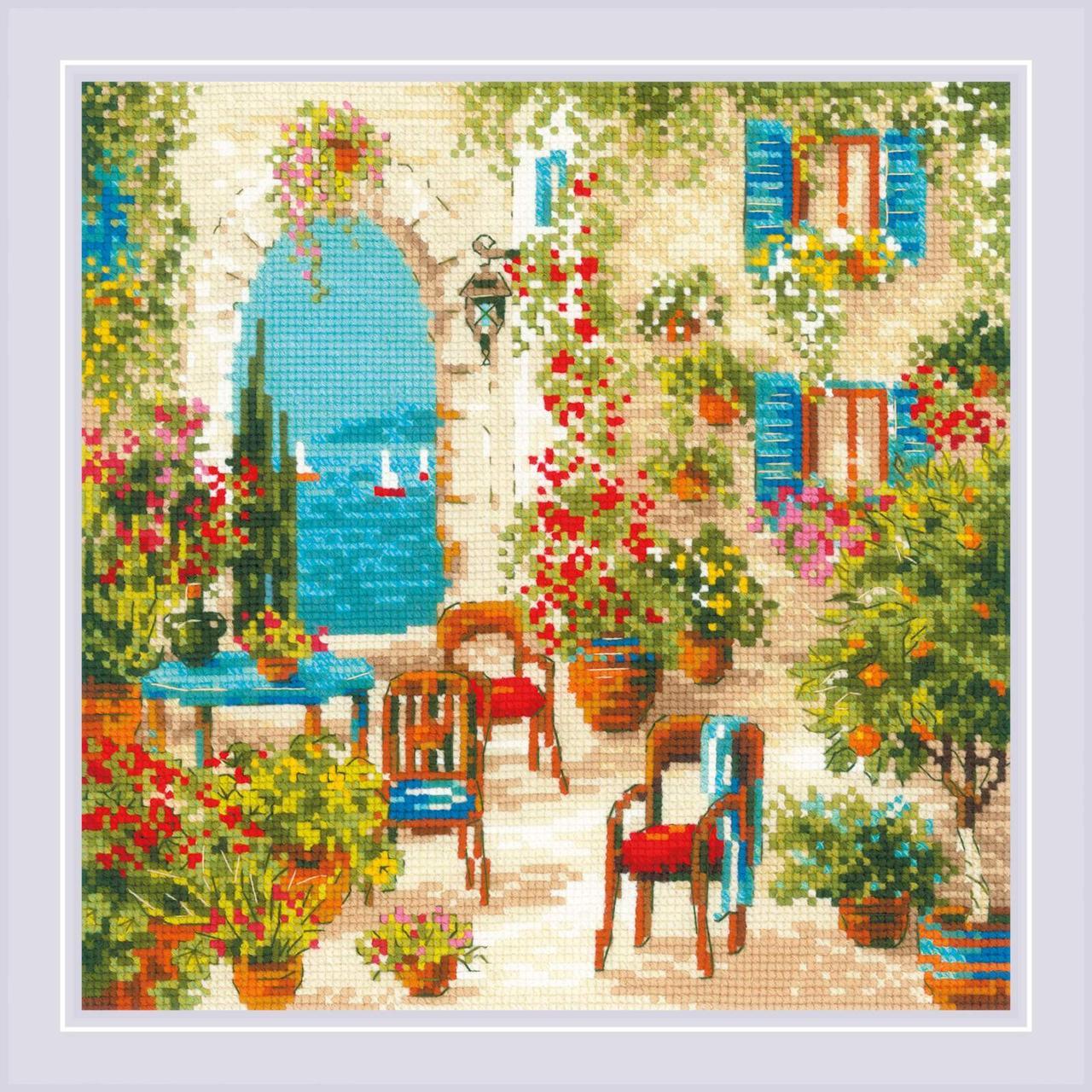 Набор для вышивания Риолис Южный дворик (1863)