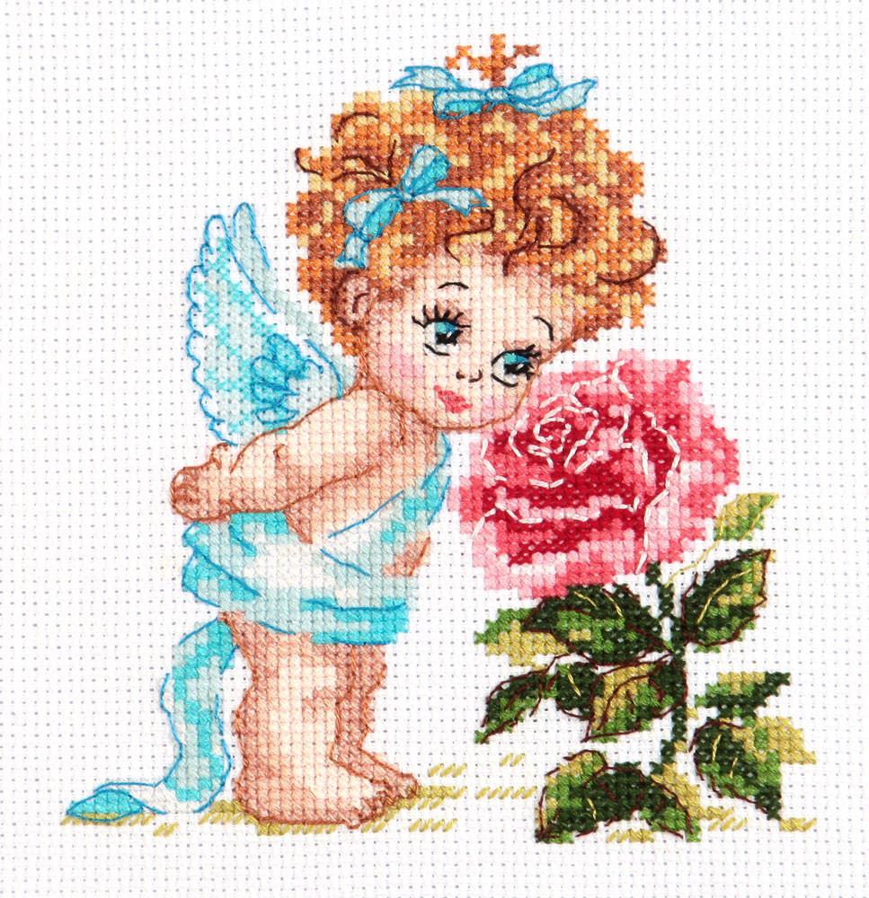 Набор для вышивания Чудесная игла Ангел нашего счастья (35-09)