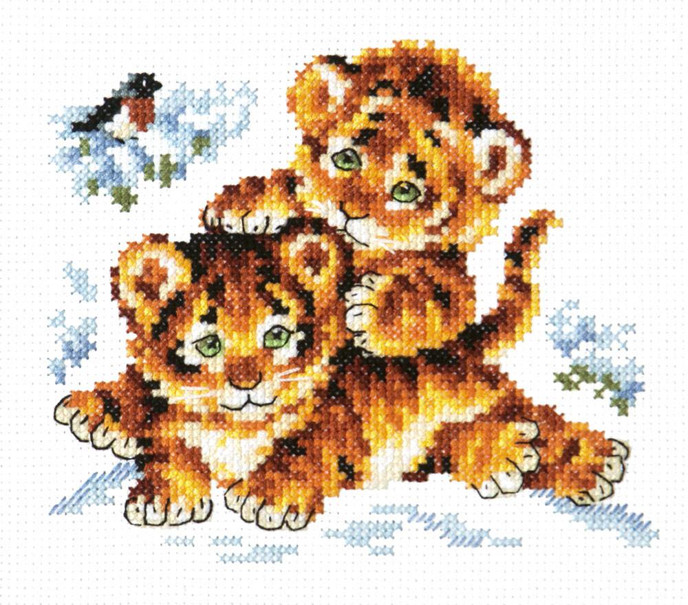 Набор для вышивания Чудесная игла Безмятежное детство (18-87)