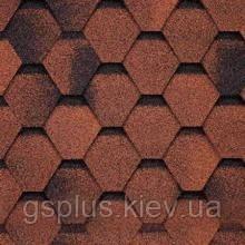 Бітумна черепиця Shinglas (Шинглас) Фінська червона, фото 2