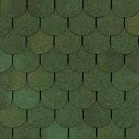 Гибкая битумная черепица Shinglas (Шинглас) Танго зеленый