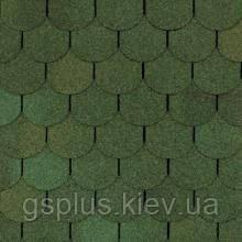 Гнучка бітумна черепиця Shinglas (Шинглас) Танго зелений
