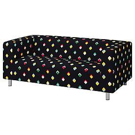 IKEA KLIPPAN Диван 2-місний, різнобарвний Rotebro (293.265.26)