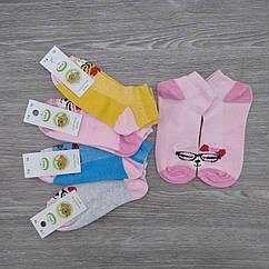 Носки детские с сеткой, для девочки, ЕКО, р.18(7-8), случайное ассорти, 30030728