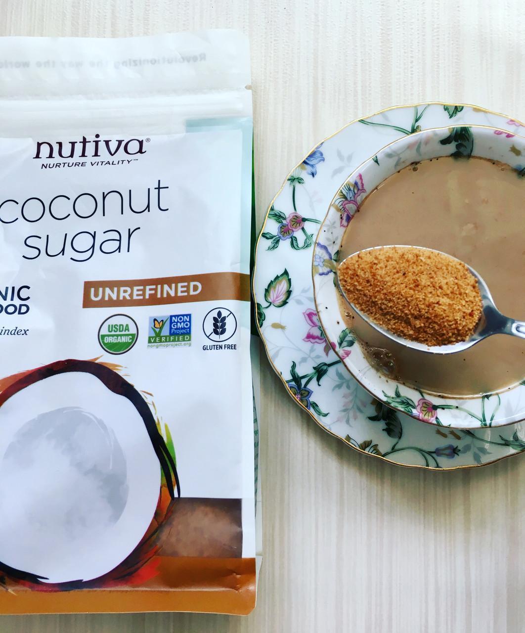 Органічний кокосовий цукор (454 г) Nutiva
