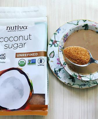 Органічний кокосовий цукор (454 г) Nutiva, фото 2