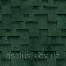 Битумная черепица Shinglas Ультра Джайв зеленый, фото 2