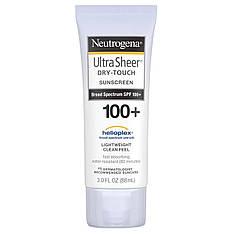 Сонцезахисний крем не залишає слідів з SPF 100+ (88 мл) Neutrogena, Ultra Sheer