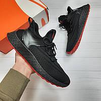 Кроссовки мужские Sport black red летние Nike сетка adidas кеды