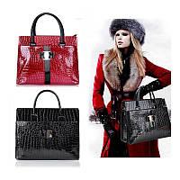 Женская лаковая сумка Frozz CC5302