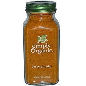 Simply Organic, Порошок каррі, 3 унції (85 г), фото 2
