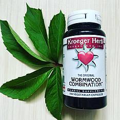 Екстракт полину, 100 капсул у рослинній оболонці Kroeger Herb Co