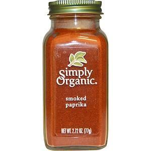 Органічна копчена паприка (77 г) Simply Organic