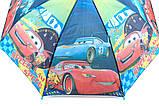 Зонты для мальчиков  полуавтомат трость на 8 спиц плотный купол, фото 5