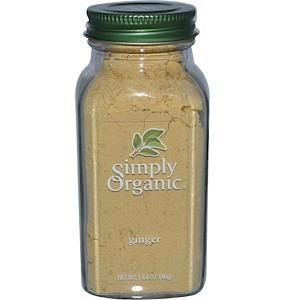 Simply Organic, Імбир (46 м)