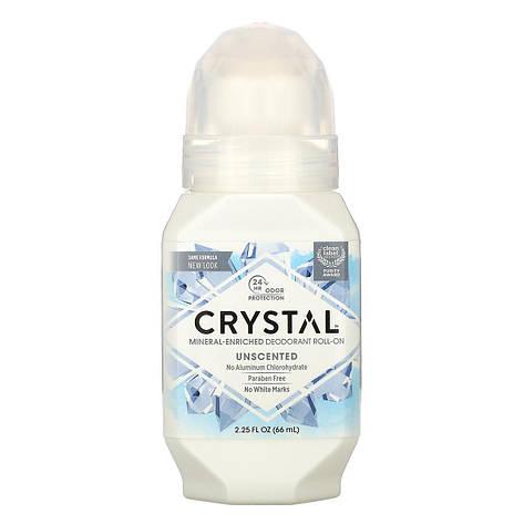 Натуральний кульковий дезодорант, без запаху (66 мл), Crystal Body Deodorant, фото 2