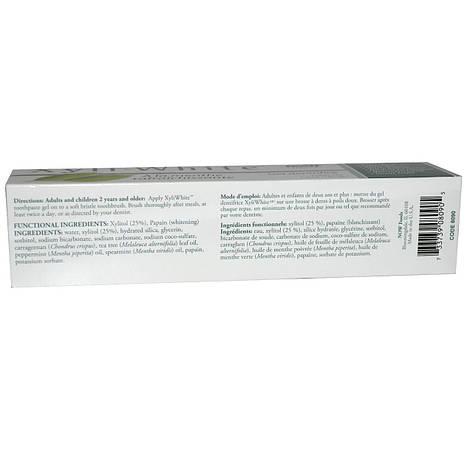 Зубная паста - гель с ароматом свежей мяты (181 г) Now Foods, Solutions, фото 2