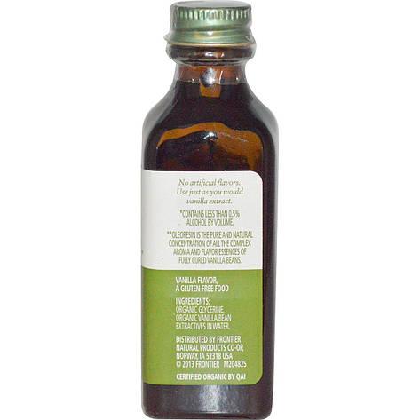 Мадагаскарсая ваніль, безалкогольний ароматизатор, вирощено на фермі, 59 мл Simply Organic, фото 2