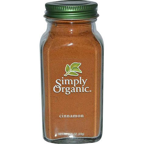 Корица, 69 г  Simply Organic, фото 2
