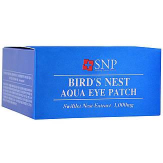 Патчи для кожи вокруг глаз с экстрактом птичьих гнезд, 60 шт SNP, фото 2
